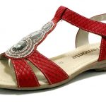 Remonte Sandals red